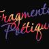 Fragments Poétiques du 24 janvier
