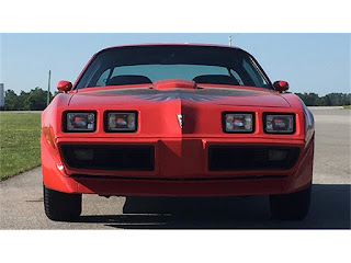 Fire Engine Red 1979 Pontiac Trans Am