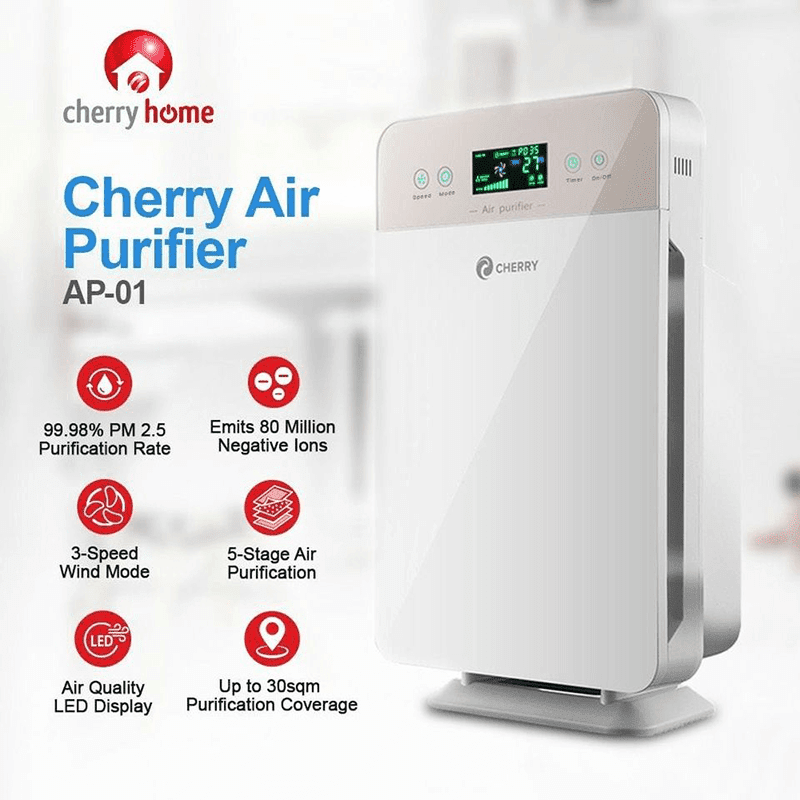 Features of the new air purifier