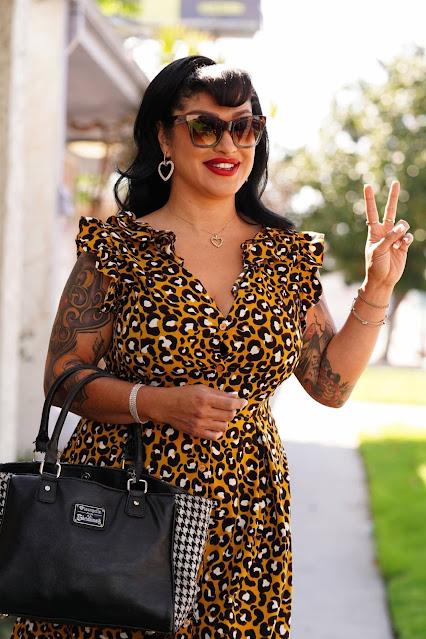 Tania Estrada – In dress seen at JAM Studios in Los Angeles