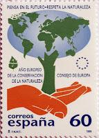 AÑO EUROPEO DE LA CONSERVACIÓN DE LA NATURALEZA