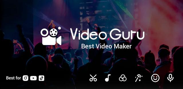 تنزيل Video Maker - Video.Guru افضل برنامج تصميم فيديو احترافي للاندرويد