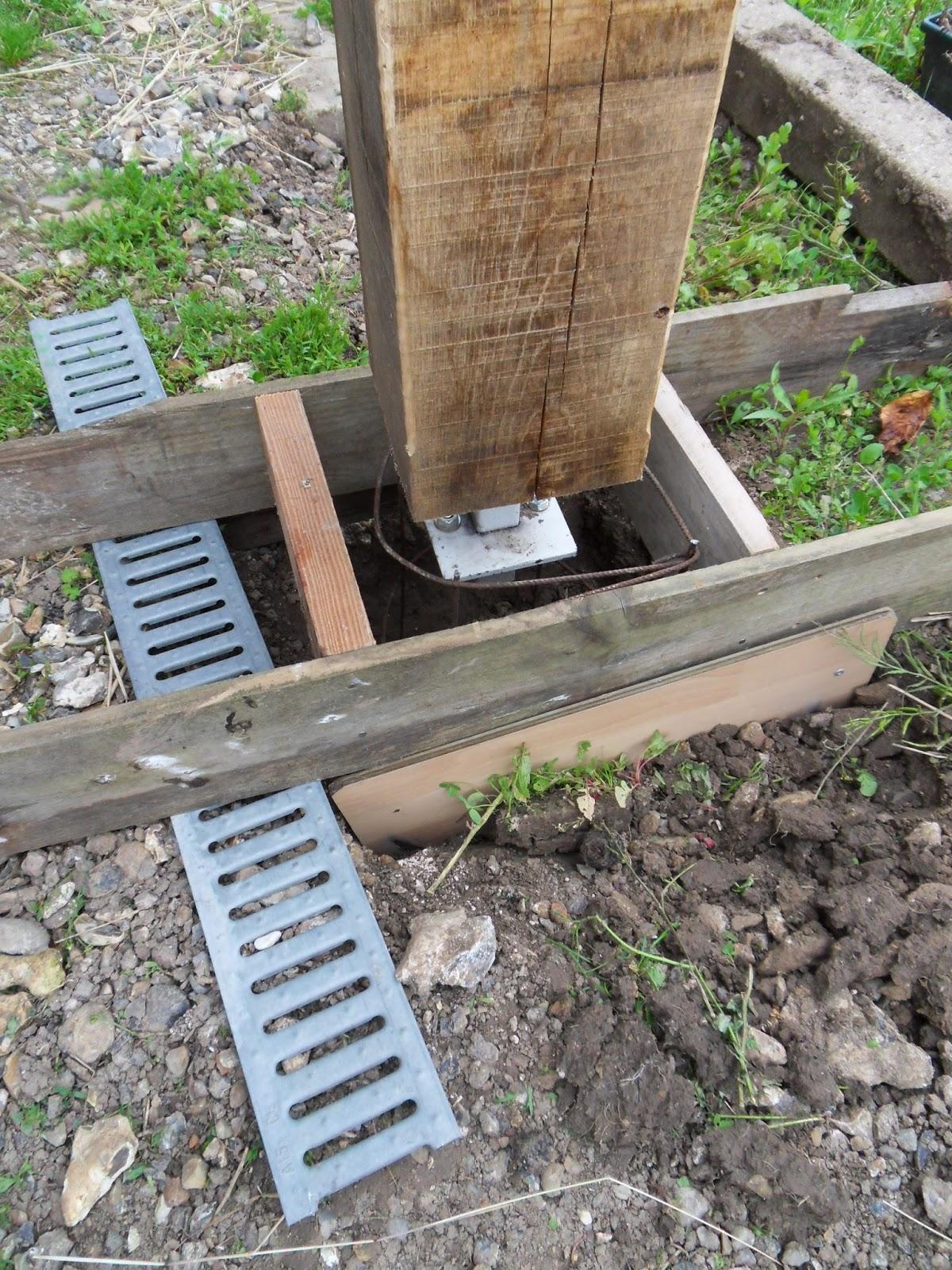 Naissance d 39 une maison de paille en picardie - Proportion pour faire du beton ...