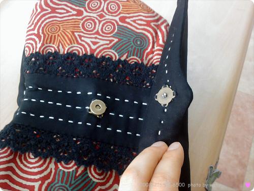Butterfly Quilt Bag. DIY step-by-step tutorial. Сумочка с бабочкой - инструкция по шитью.
