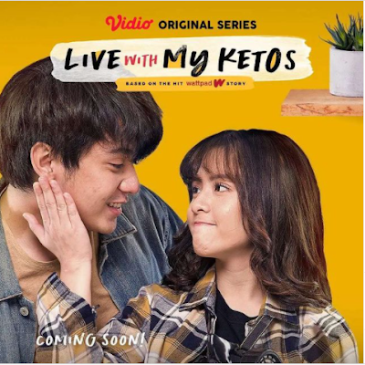 Link Streaming Nonton Live With My Ketos Episode 2 di Vidio Secara Gratis Film Zara Adhisty atau Gabriella dan Alvaro Arbani Yasiz Makin Dekat