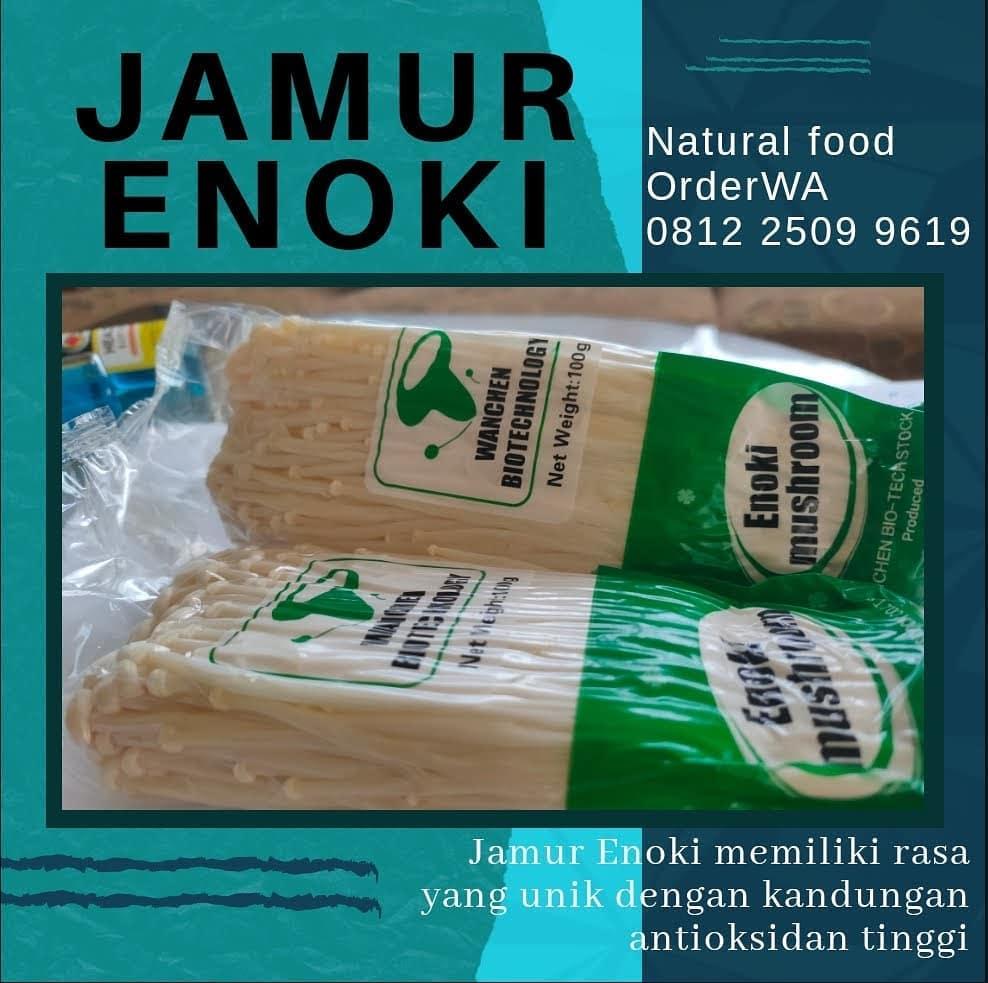 Konsumsi Jamur Enoki Untuk Kesehatan