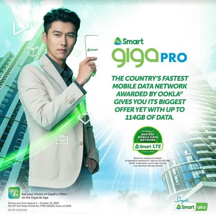 List of Smart GIGA PRO Data Promos with up to 114GB of Data