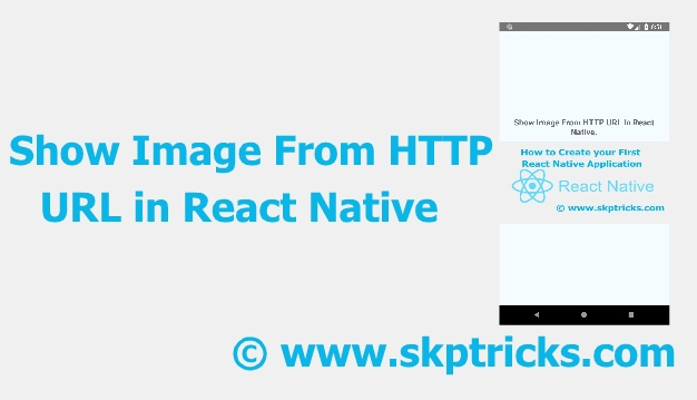 Show Image From HTTP URL in React Native | SKPTRICKS