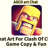 Chat Art For Clash Of Clans Game Copy & Fun