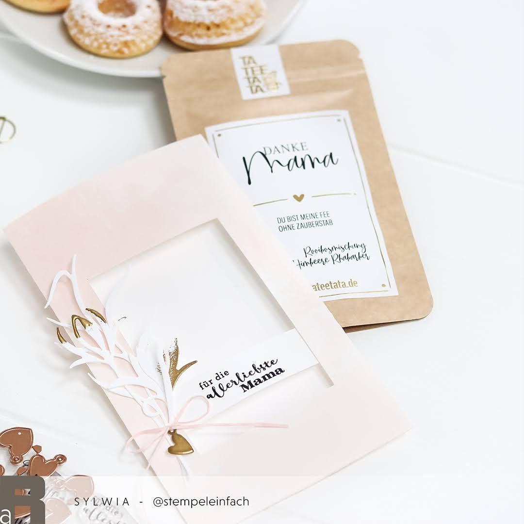 Verpackung Teegeschenk-Anleitung