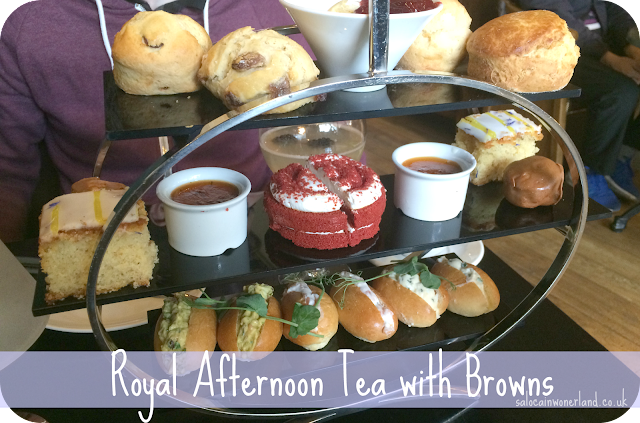 royal afternoon tea browns