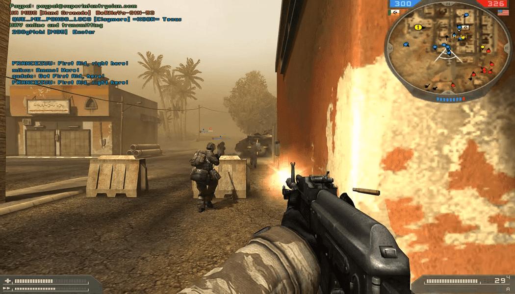 تحميل لعبة Battlefield 2 مضغوطة