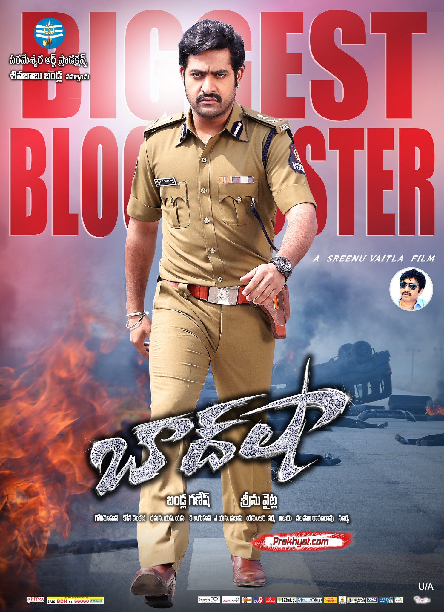 Temper (2015) Hindi Dubbed 350MB HDRip 480p Free Download