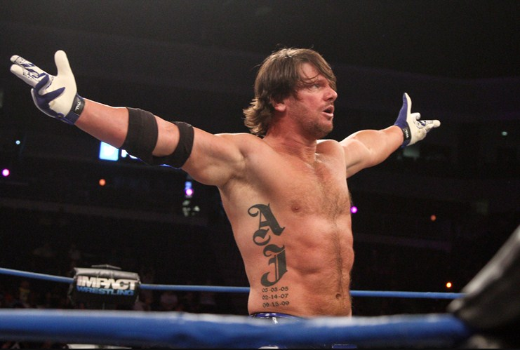 A.J. Styles Ring Images On Facebook Profile