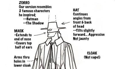 Adios, Zorro!