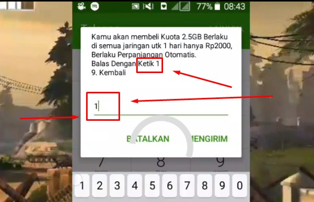 Daftar Paket Internet Tri 2.5GB Rp 2.000 Terbaru 2019 iii