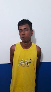 Polícia civil prende um dos acusados de assaltar posto de combustíveis em Cuité