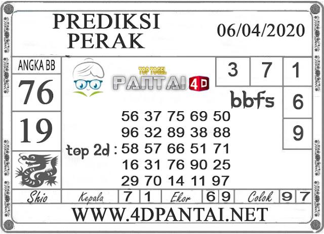 PREDIKSI TOGEL PERAK PANTAI4D 06 APRIL 2020