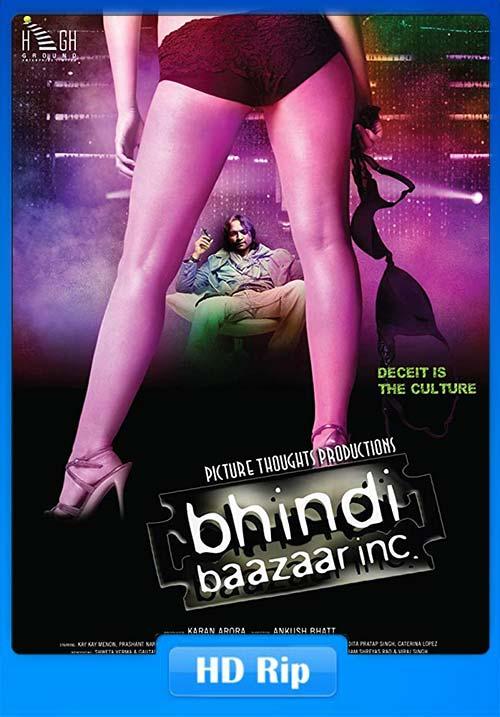 Bhindi Baazaar Inc 2011 720p WEBHD x264   480p 300MB   100MB HEVC