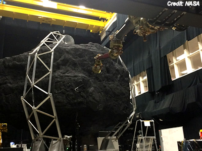 NASA's Asteroid Redirect Mission Emerges