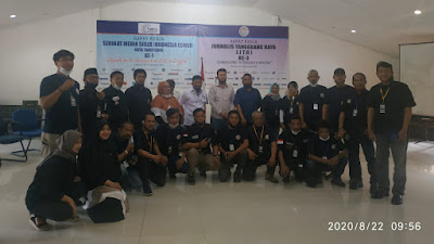 Tingkatkan Profesional Jurnalistik, JTR Kota Tangerang Gelar Raker Ke- 3