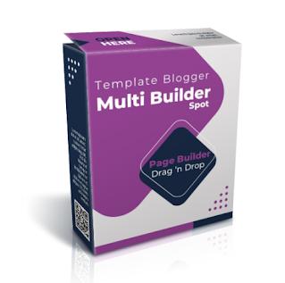 Multi Builder Spot, Template Page Builder Blogspot Untuk Multi Landing Page