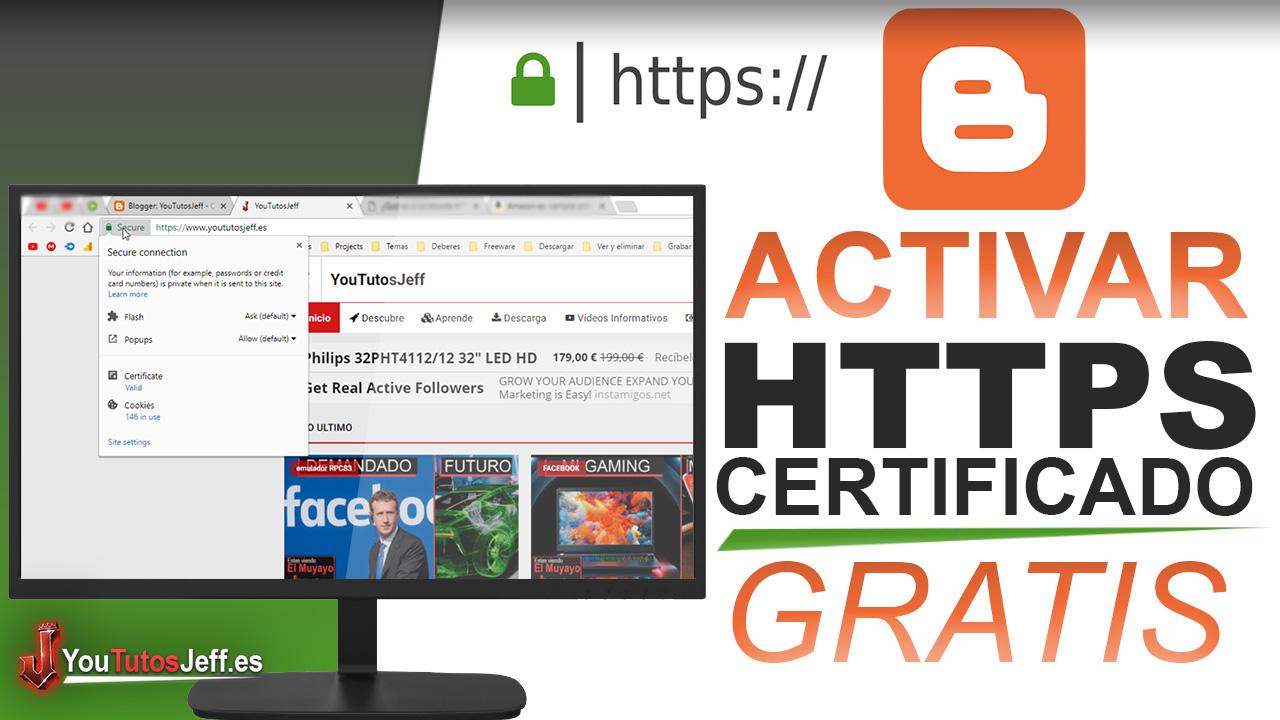Como Poner Certificado SSL en Blogger con Dominio Personalizado - Gratis