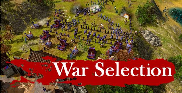 War Selection el RTS clásico pseudohistórico con un modo Armageddon.