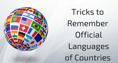 Tricks to Remember Official Languages of Countries