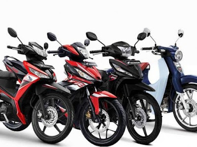 Daftar Motor Bebek Honda Murah
