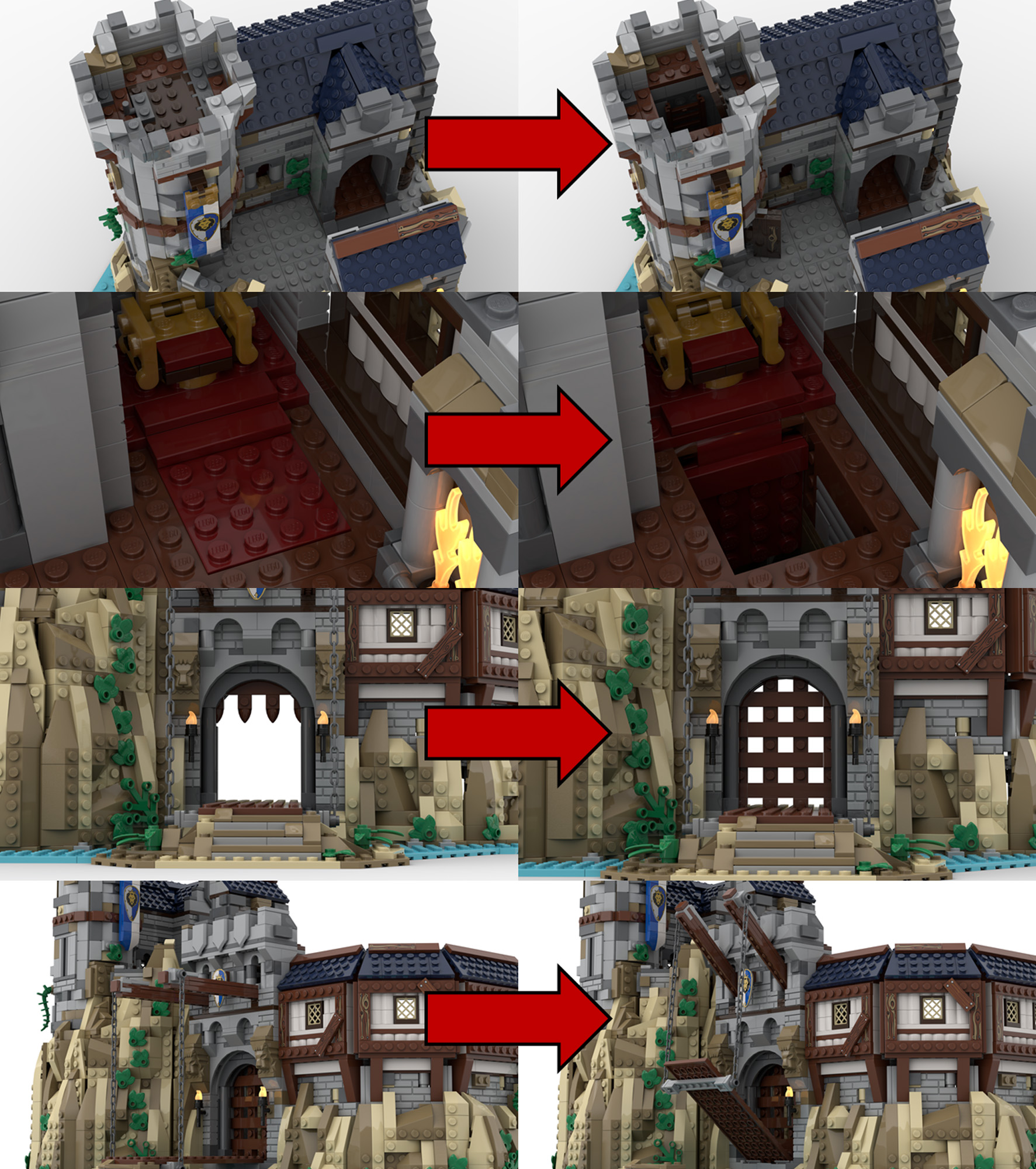 レゴアイデアで『王の城』が製品化レビュー進出!2021年第1回1万サポート獲得デザイン紹介