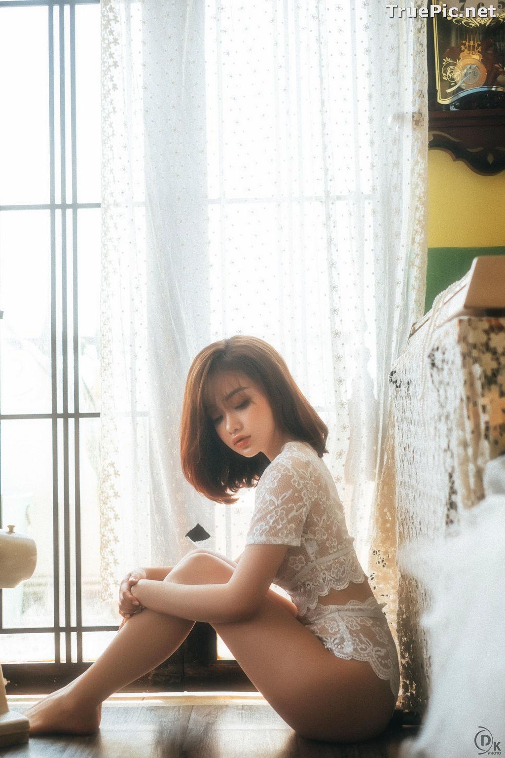 Image Vietnamese Hot Model - Sleepwear and Lingerie Under Dawnlight - TruePic.net - Picture-7