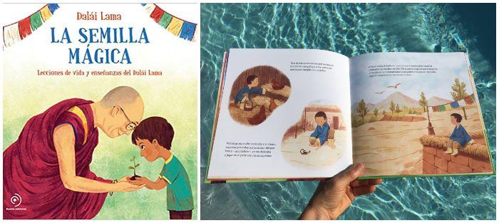 cuento infantil La semilla mágica Dalái Lama compasión bondad