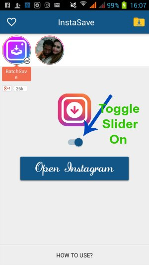 Download/Save Instagram Photos/Videos to Android/iPhone Gallery