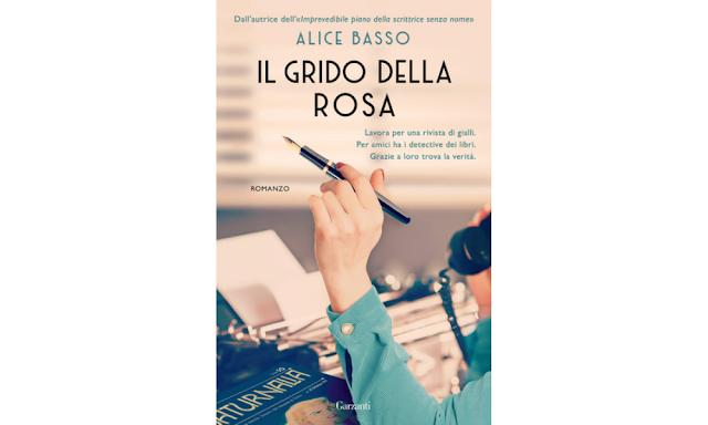 Alice Basso, copertina di Il grido della rosa