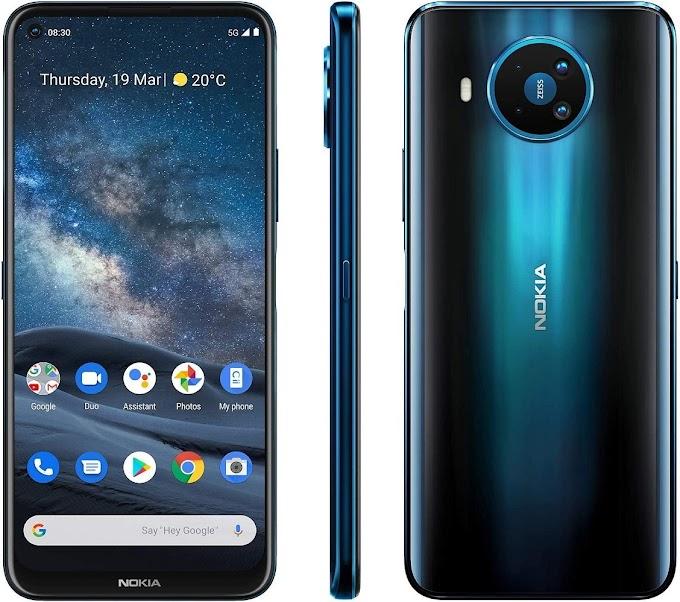 موبايل Nokia 8.3 5G بسعر 10499 جنيه مع نون مصر