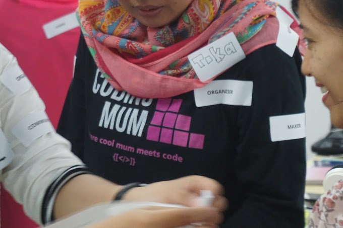 Tika di Program Inkubasi Startup Creative Hub Surabaya