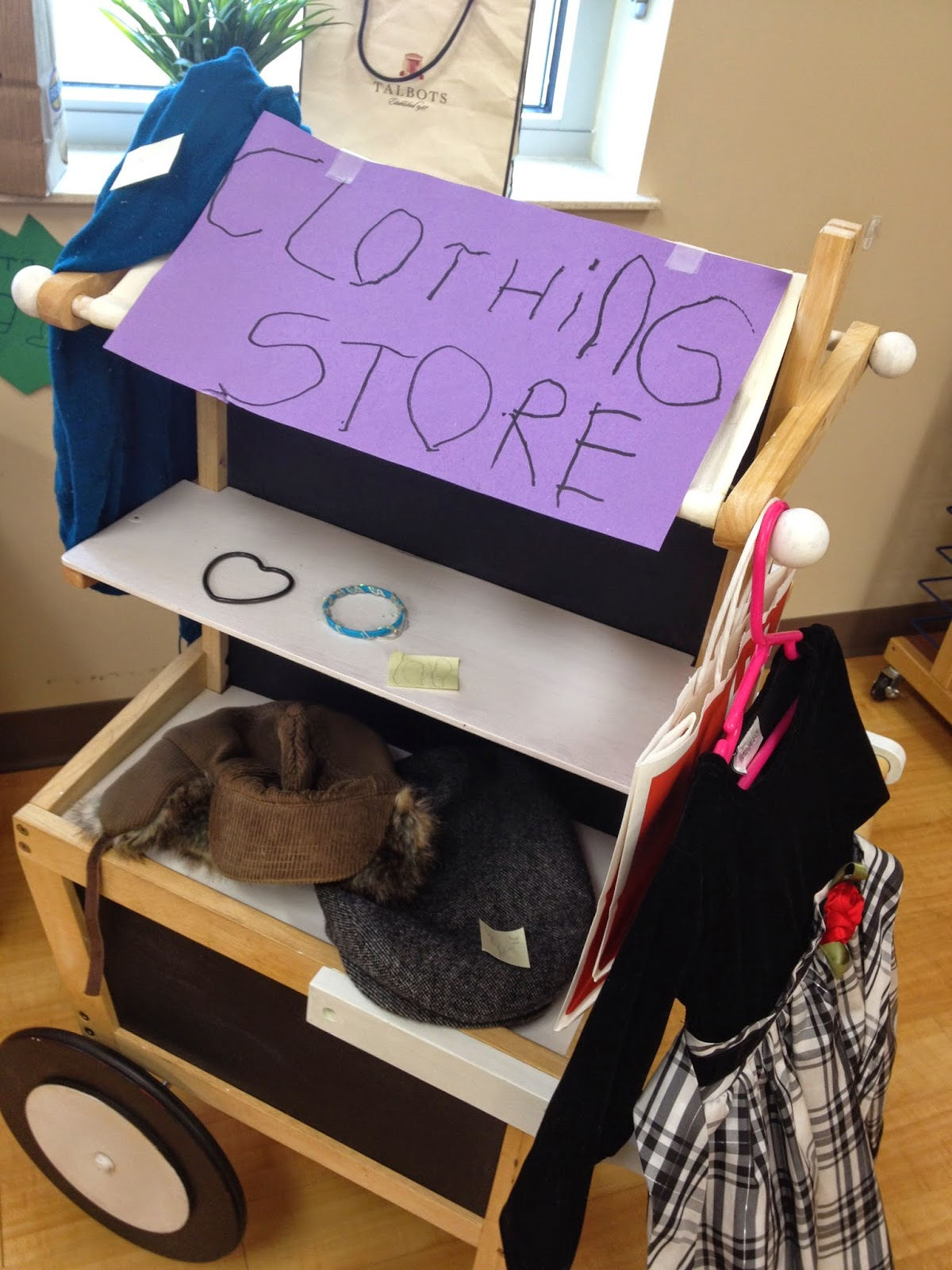 Dramatic Play Clothing Store