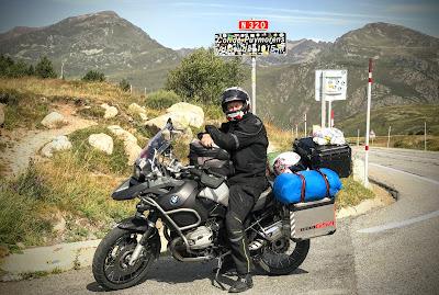 Moto Euro Trip 2017: z UK na Gibraltar - dzień 4/6 - droga Andora - Barcelona - Almuñécar