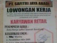 Lowongan Kerja Toko Baju Di Bogor