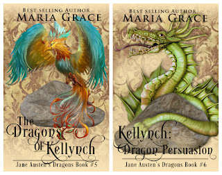 Dragons of Kellynch and Kellynch: Dragon Persuasion by Maria Grace