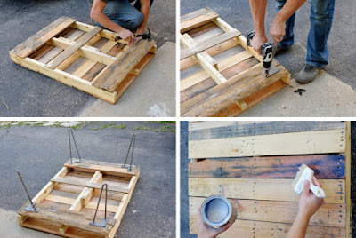 Do It Yourself Pallet Coffee Table Furniture