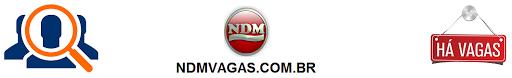 NDM VAGAS - NDMVAGAS.COM.BR