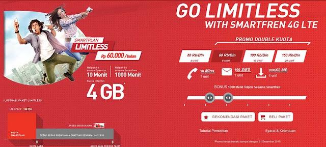 Paket Internet Smartplan Limitless Untuk Internetan Sepuasnya!