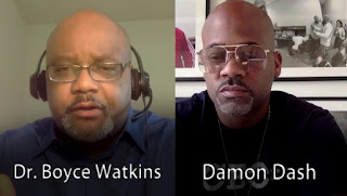 Boyce Watkins Talks With Damon Dash on Camera