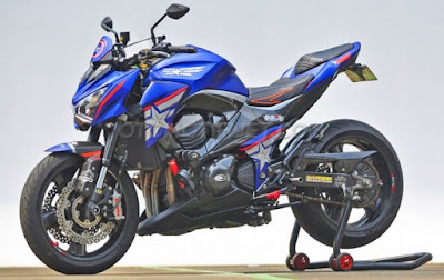 Kawasaki Z800 Ala Civil War Captain America