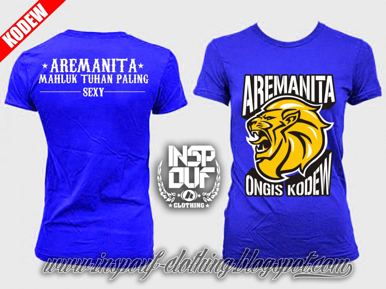 INSPOUF clothing(Kaos Malangan & Kaos AREMA)