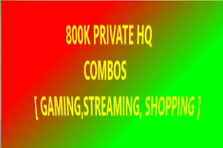 800K PRIVATE HQ COMBOS 6 [ GAMING,STREAMING, SHOPPING ]
