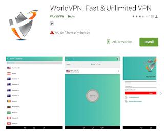 Ulasan Aplikasi Wolrd VPN