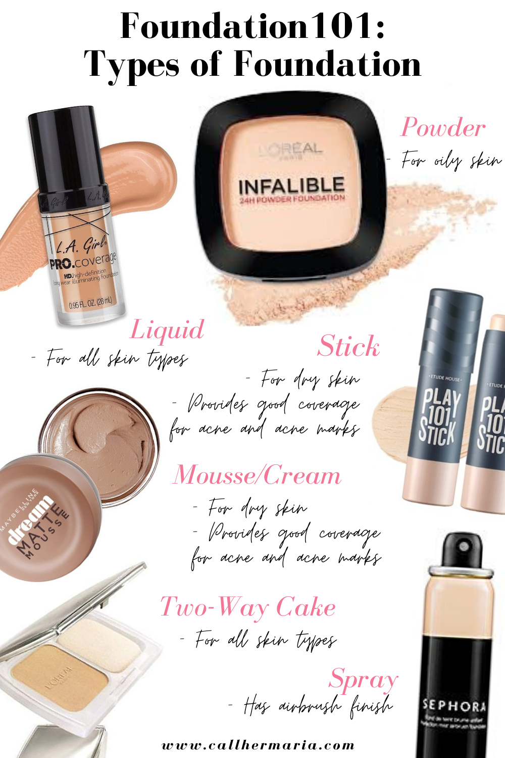 Beginner Makeup: How to Find the Perfect Foundation For You